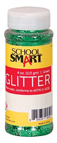 School Smart Glitter, Green