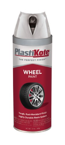 PlastiKote 621 Silver Argent Wheel Paint - 12 Oz. (Automotive Wheel Paint compare prices)