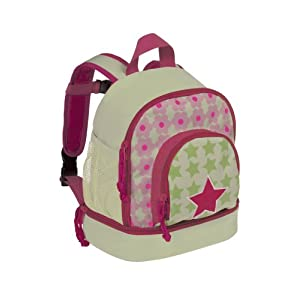 Lassig Starlight Magenta Mini Backpack