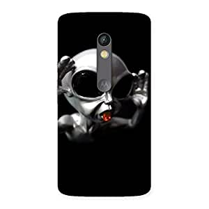 Funny Scare. Back Case Cover for Moto X Play
