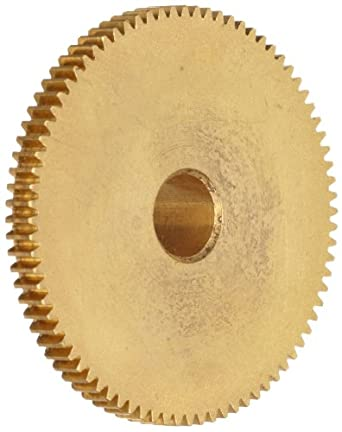 "Brass Pinion Gear 64P 20 Deg Pressure Angle 36Teeth x .188"" Bore x .562"" Pitch Dia"