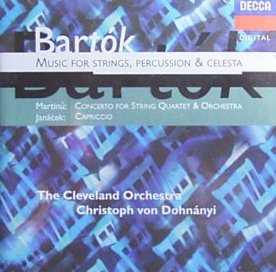 Music for String, Percussion & Celesta by Bartok, Dohnanyi and Cleveland Orchestra