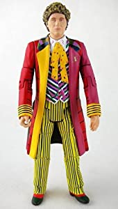 DOCTOR WHO CLASSIC THE 6TH DOCTOR COLIN BAKER LOOSE FIGURE