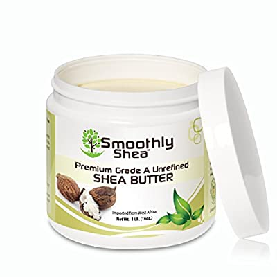 Smoothly Shea - 100% Pure, Certified Grade 'A', Raw Unrefined West African Shea Body Butter