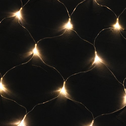 AGPTEK 300 LED Warm White Net Mesh Fairy String Lights for Wedding Christmas Xmas Thanksgiving ...