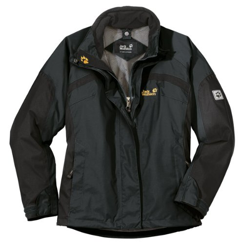 Jack Wolfskin Damen Jacke Topaz Jacket Women, shadow black, L, 1000159004