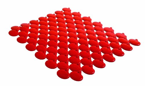 Orka A88410 Sink Mat Large Tomato, Red