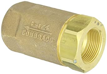 Dixon Brass Ball Cone Check Valve, NPT Female