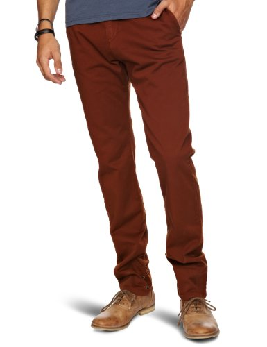 trikki Chinos Straight Men's Trousers Rustic Large