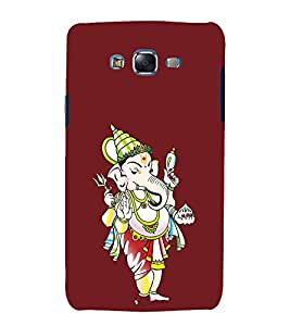 printtech Lord God Ganesha Back Case Cover for Samsung Galaxy Core 2 G355H
