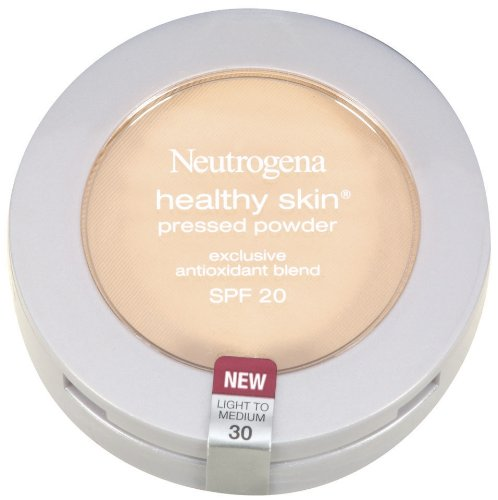 Neutrogena Healthy Skin Pressed Powder, SPF 20, Light to Medium 30
