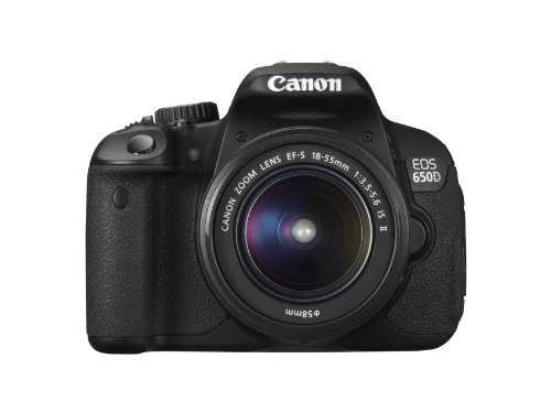 Canon EOS 650D Digital SLR Camera - Black (Inc. 