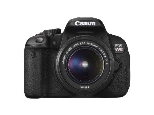 Canon EOS 650D Digital SLR Camera - Black (Inc.