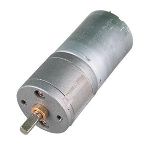 HOSSEN® 12V 120RPM Powerful High Torque DC Gear Box Motor Replacement Motor