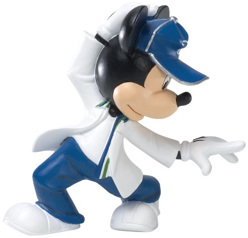 Enesco Disney Showcase Urban Mickey Mouse Figurine, 4-1/4-Inch