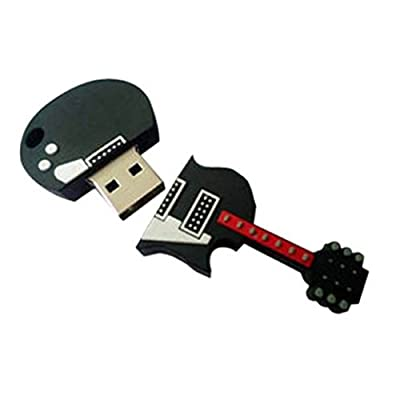Smiledrive 8 GB 3.0 USB FANCY DESIGNER GUITAR SHAPED PENDRIVE