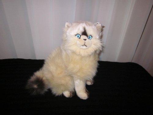 Sitzende Chocolate Point Katze ca. 30 cm von