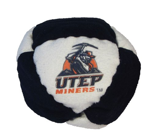 Hacky Sack - College Logo 8 Panelled University of Texas El Paso Design - 1
