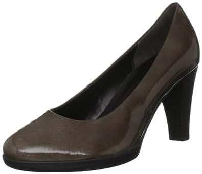Gabor Women's Soria Patent Dark Taupe Platforms Heels 55.220.93 5.5 UK