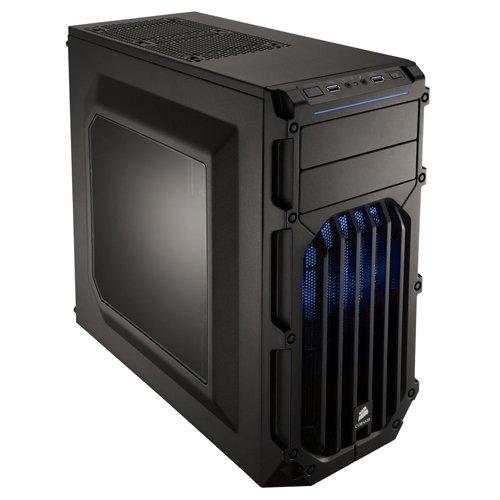 Corsair CC-9011058-WW Carbide Series SPEC-03 Fenêtré Moyenne Tour ATX Boitier Gaming, Noir LED Bleu