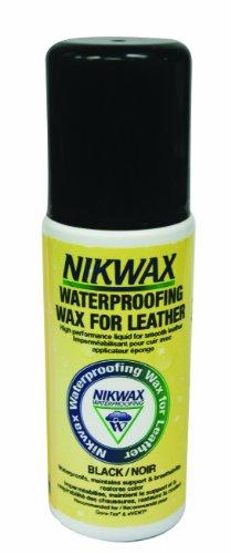 Nikwax Waterproofing Liquid Black Wax for Leather,