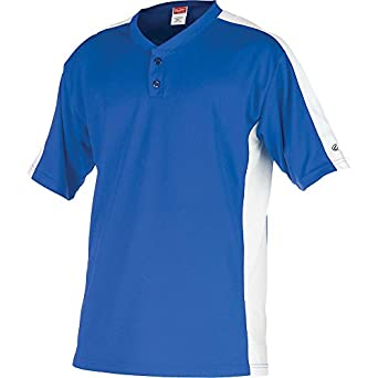 Rawlings Youth Two Button YJSB Jersey, Royal, Youth Large