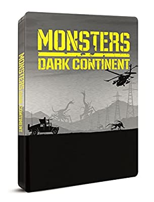 Monsters Dark Continent UK Exclusive Ultra Limited SteelBook Blu-ray(Release 31st august)