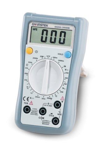 Hand Held Electrical Meters : Gw instek series gdm lcd digital display handheld