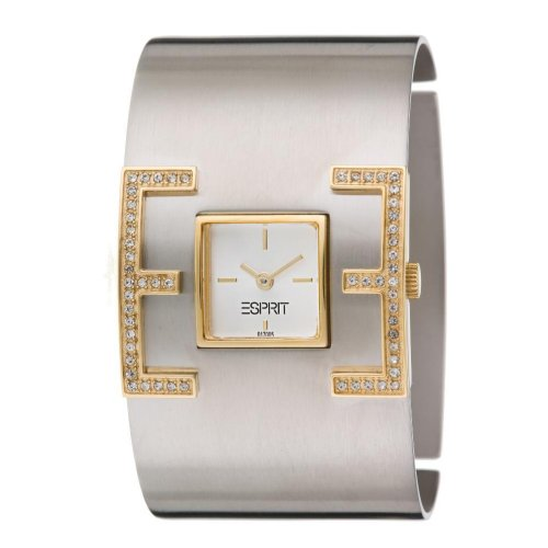 Esprit-Damen-Armbanduhr-E-Motion-Bicolor-Analog-Quarz