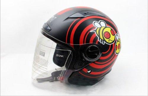 Bikman Motorcycle Motor Helmet Electric Cars Safety Bike Helmet Cute Bee For Men Or Women