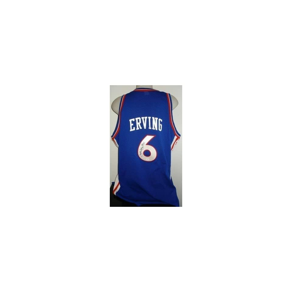 pretty nice b1243 7822e Autographed Julius Erving Jersey DR J Philly MN JSA ...