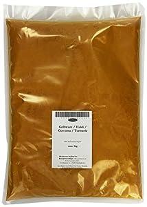 Eder Gewürze - Gelbwurz / Haldi / Curcuma / Turmeric gemahlen Gewürz - 1 kg, 1er Pack (1 x 1 kg)