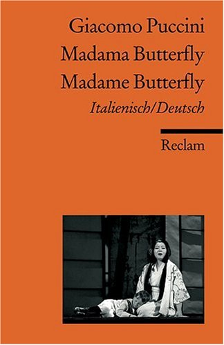 Madama Butterfly /Madame Butterfly - Piccini -  libro Aleman/Italiano