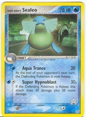 Team Aqua's Sealeo - EX Team Aqua vs. Team Magma - 16 [Toy]