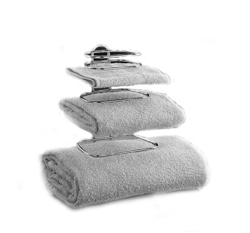 Taymor Hotel Chrome Two Guest Towel Holders (Guest Towel Rack compare prices)