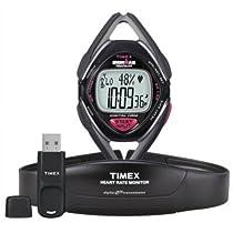 Timex Ironman Race Trainer HR Monitor w/ Training Kit Black/Grey