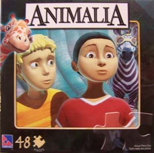 Animalia Movie 48 Piece Child's Jigsaw Puzzle