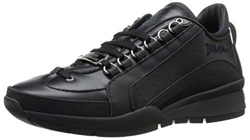 Dsquared2 Herrenschuhe Herren Leder Schuhe Sneakers 551 Kalbsleder sport Schwarz EU 42 W15SN4040652124 thumbnail