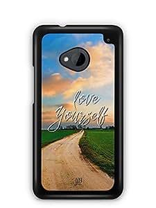YuBingo Love Yourself Designer Mobile Case Back Cover for HTC One M7