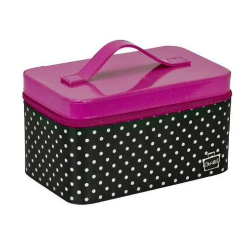 Amazon.com : Caboodles Hot Pink and Polka Dot Multi