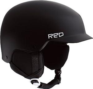 Red Avid Grom Kids Helmets - White, Small