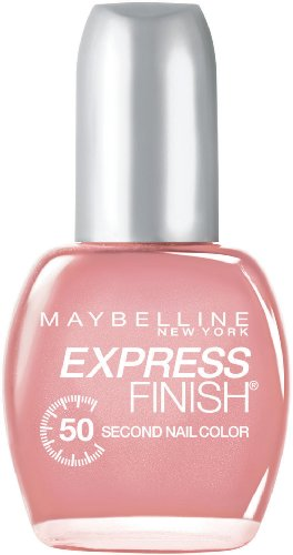 maybelline nail polish Maybelline New York Express Finish 50 Second Nail Color, Timeless Pink 85, 0.5 Fluid Ounce