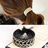 (3 Pcs/lot) Hair Accessories Ponytail Holders Hairbands Hair Circle Women Simple Ponytailer