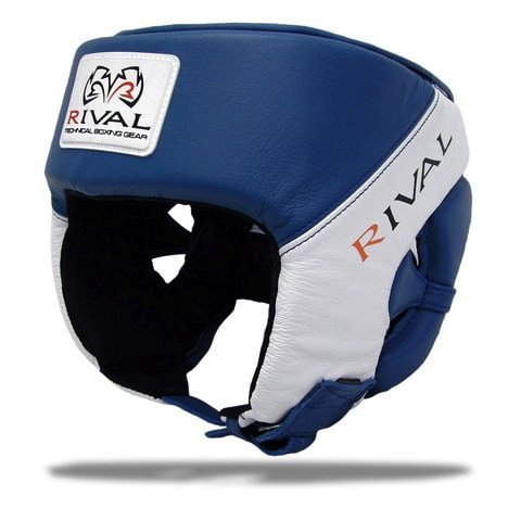 Rival Boxing Competition Headgear (Blue, X-Large)