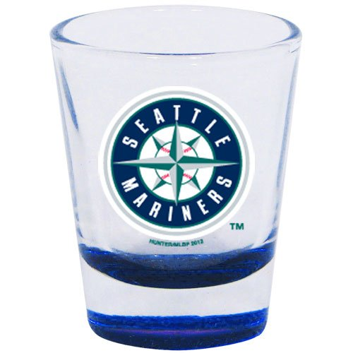 MLB Seattle Mariners 2 oz. Highlight Shot Glass at Amazon.com
