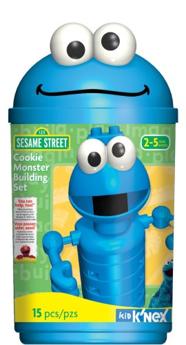 Sesame Street Cookie Monster Building Set
