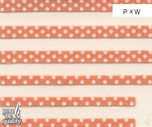 デコネイル ミズタマテープ ピンク×ホワイトNー187PXW