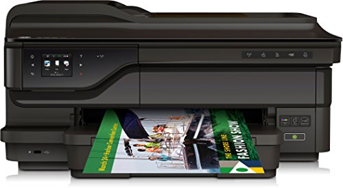 HP Officejet 7612 (G1X85A) A3 All-in-One Drucker (Drucker, A4 Scanner, Kopierer, Fax, 4800 x 1200 dpi, USB, WLAN, LAN, Airprint, Cloud print) schwarz