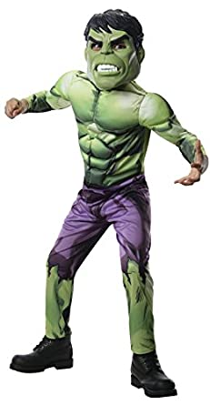 Hulk Muscle Chest Child Costume Avengers Assemble Costume Avenger Costume 880746