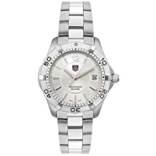 TAG Heuer Men s WAF1112 BA0801 Silver Aquaracer Watch